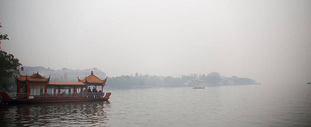 杭州到著.霧雨西湖 (2006/11/25)