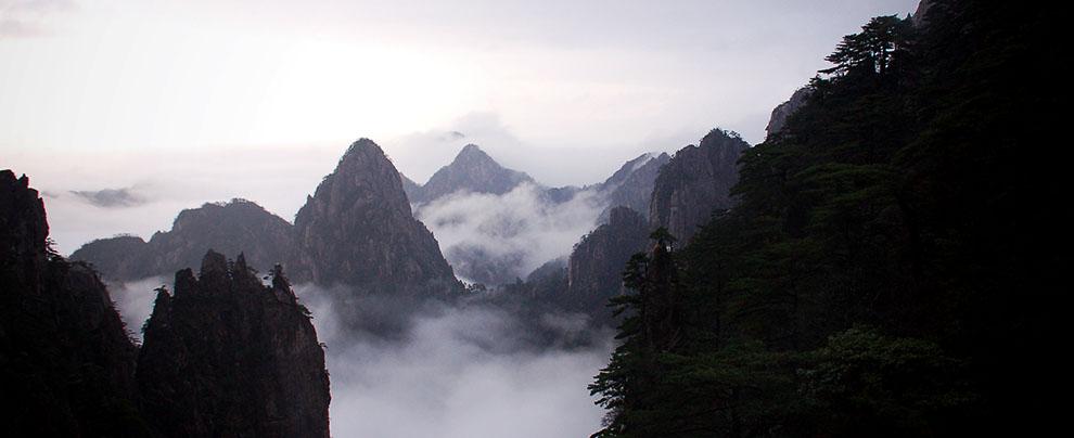 上黃山(一).山色空蒙 (2006/11/26)