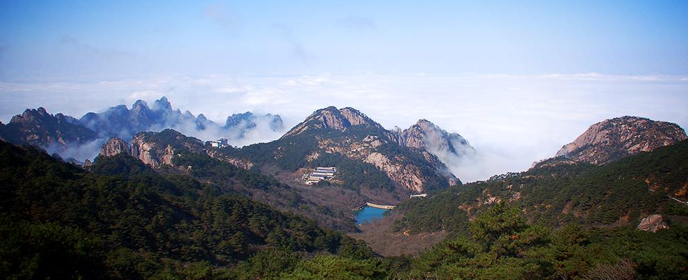 上黃山(三):正得一霜方快晴 (2006/11/28)