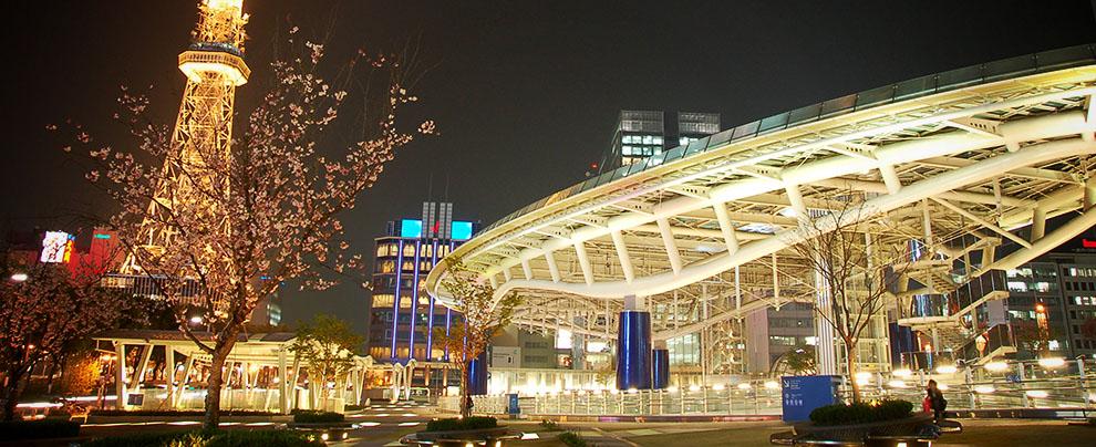 四月昇龍道:名古屋到著 (2007/04/12)